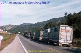 1974 frontière d'Irun