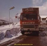 sur la route de l'Iran 1975