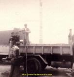 Denis avec son premier camion