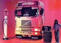Denis avec La Gitane pour le poster de france route en 1991