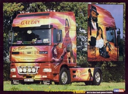 Poster de France route de juin 2004