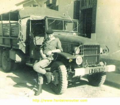 Mes débuts en camion avec un GMC.