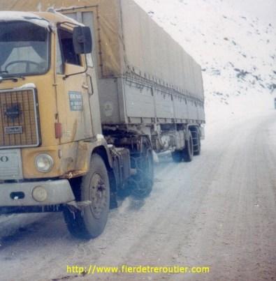 Décembre 1977, un 88 affronte l'hiver Turc.