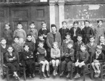 Photo de classe Max en bas à gauche
