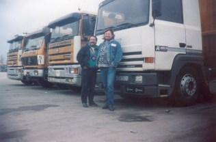 Tchitcho (à gauche) avec Serge