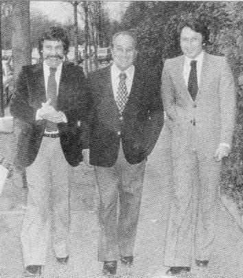 accompagné de Tino Rossi et Michel Drucker