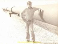 Le long d'un Pipe Line. Arabie ou Iraq ?