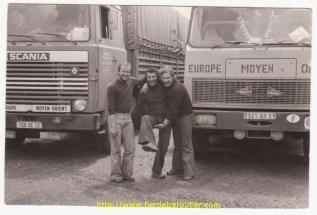 Avec Gérard et son collègue