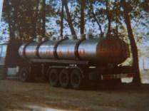 Citerne 26 compartiments en direction du PORTUGAL DAF 2800 AVRIL 1985
