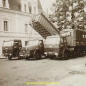 La flotte Couchet en 1970