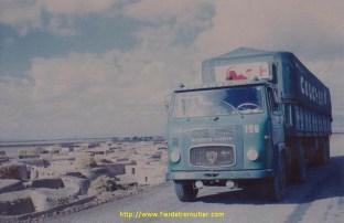 En Iran en novembre 76