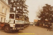 Reception des R310 pour Couchet et sa filliale LOCA-TRANSIT en 1981