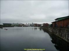 Anciens docks industriels, nouveau port de plaisance