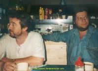 Les chtimis chez Peter à Karatzini en Grèce. A droite Norbert et à gauche Régis, inséparables depuis plus de 20 ans !!