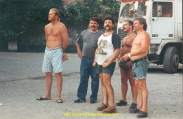 Jean Marc, Rogatti, Derimey, Tchicho et Titi.