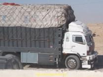 Un camion marocain dans la douane, on en a vu pas mal