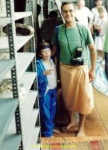 Visite de la Mosquée bleue, port de la jupe autorisée ...