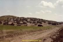 Village dans la région d'Urfa