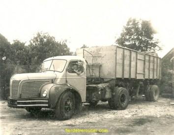 Le camion du père de Luc