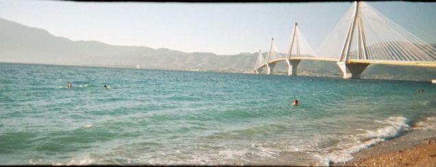 Pont de Rio en Grèce, inauguré pour les JO 2004