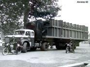 TLM10 en convoi exceptionnel années 60