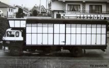 BERLIET GR10 fin années 60. Fourgon debachable