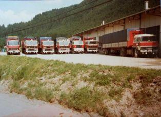 MAGIRUS 256, MAGIRUS 320 V10 à Cabine IVECO, VOLVO F88 et DAF 2800