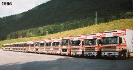 A partir de 1995 DAF revient en force avec les 95 SUPER SPACECAB!!