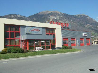 Bureau et atelier du nouveau site de BONNEVILLE aux pieds des montagnes!