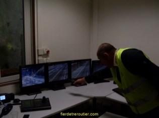 Yves nous explique le fonctionnement des caméras de surveillance