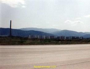 Une ville en Bulgarie