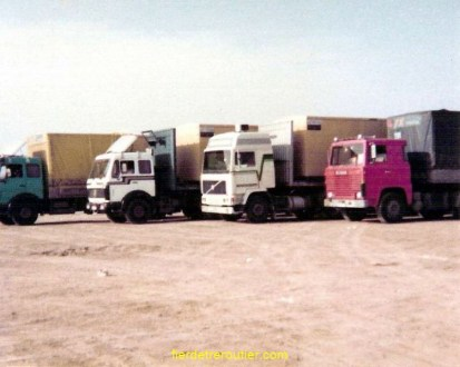 Camions Sertranex au Londra Camping à Istanbul