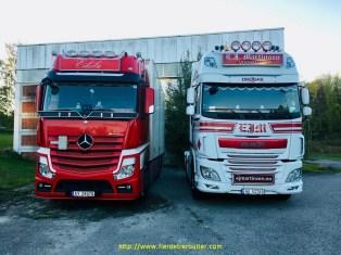 Le camion du père et du fils