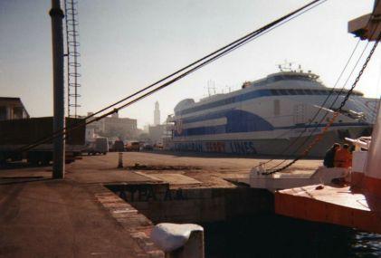 le ferry en panne