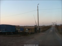 Un parking Tir en Ukraine, ça ne plaisante pas