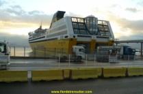 débarquement à Ajaccio