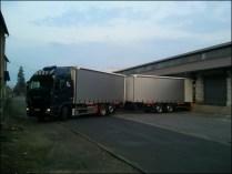 encore des mises à quai super pour les camions remorques...