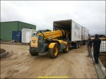 livraison sur chantier vers Montauban