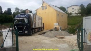chantier à Villars de lans