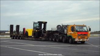 au port de Zeebrugge (Belgique)