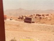On vient de passer le village de Cizré, on est à 5 km de la frontière irakienne