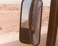 Je roule depuis 2 jours en Arabie Saoudite, et personne à l'horizon, vivement l'arrivée à la base vie.