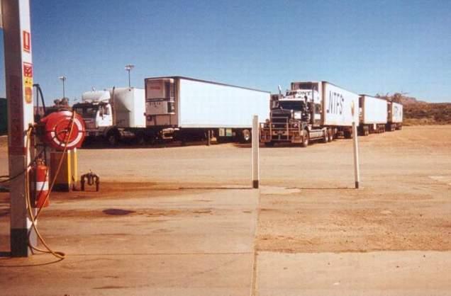 BP Truckstop Alice Springs