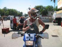 drapeau corse sur moto fdr
