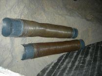 2 tuyaux flexibles