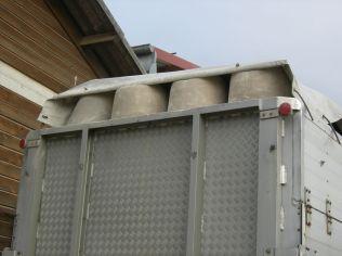 Systeme pour laisser l'air s'echapper sinon il y aurait des problemes
