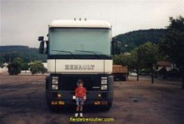 le camion de christophe.. le fils du patron que... j'ai eu 15 jours pendant les vacances...