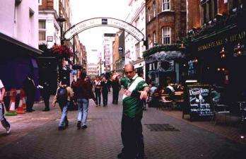 Carnaby Street en Londres