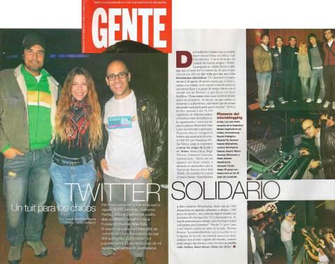 Twitter Solidario - Gente - 10/8/2010