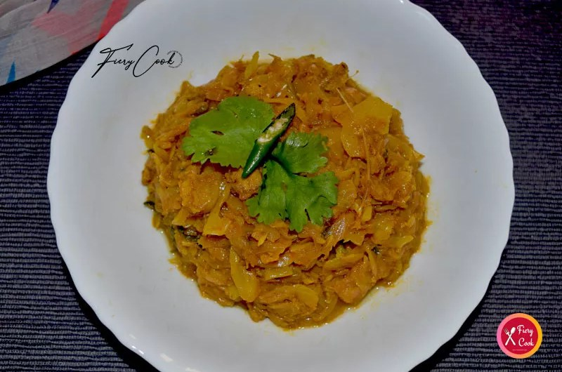 Cabbage Curry Recipe With Fish Head